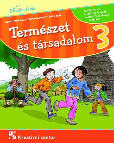 Természet és társadalom 3 tankönyv (KC)