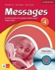 Angol mnkafüzet - Messages 4 +CD (KL)