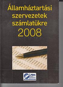Államháztartási szervezetek számlatükre 2008