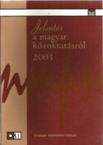 Jelentés a magyar közoktatásról 2003