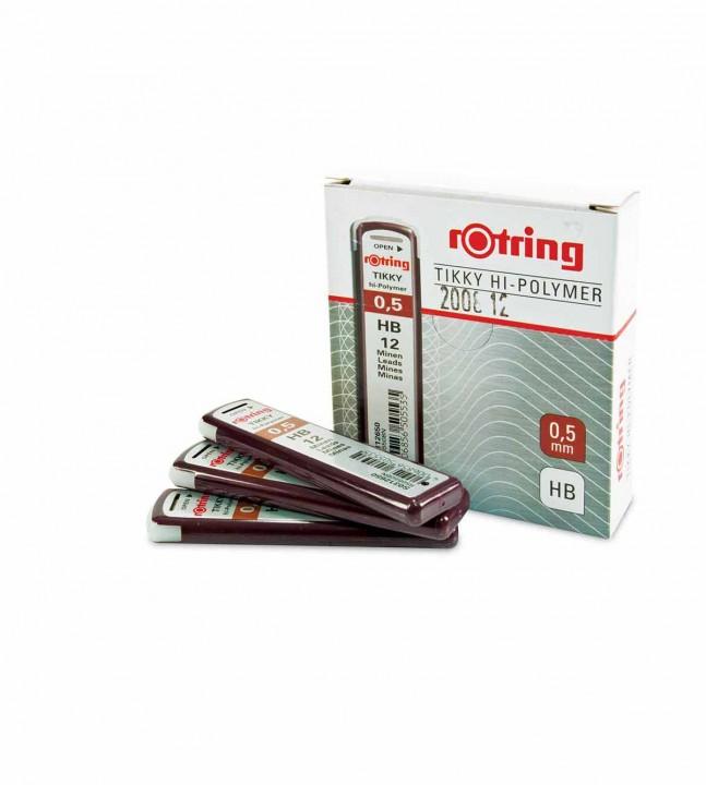 Rotring töltőzeruza betét 0,5 mm HB