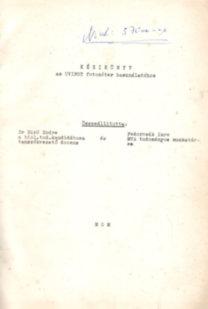 Uvifot fotométer használatához- kézikönyv