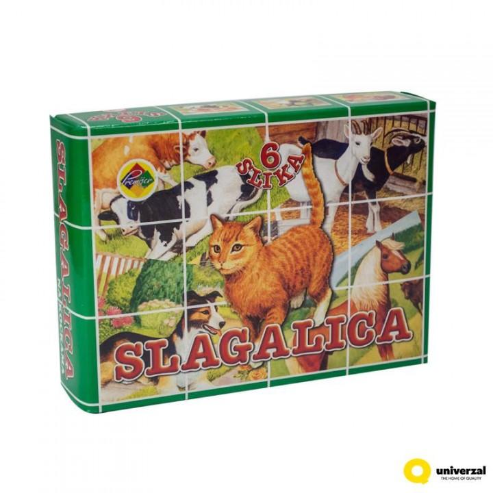 6 oldalas kocka kirakó - háziállatok