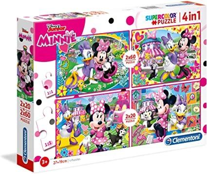Puzzle - 4 in 1 - Minnie
