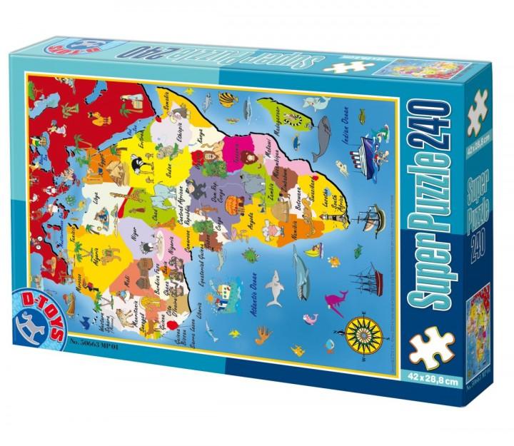Puzzle - Afrika