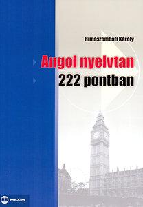 Angol nyelvtan 222 pontban