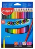 Maped Color Peps 18