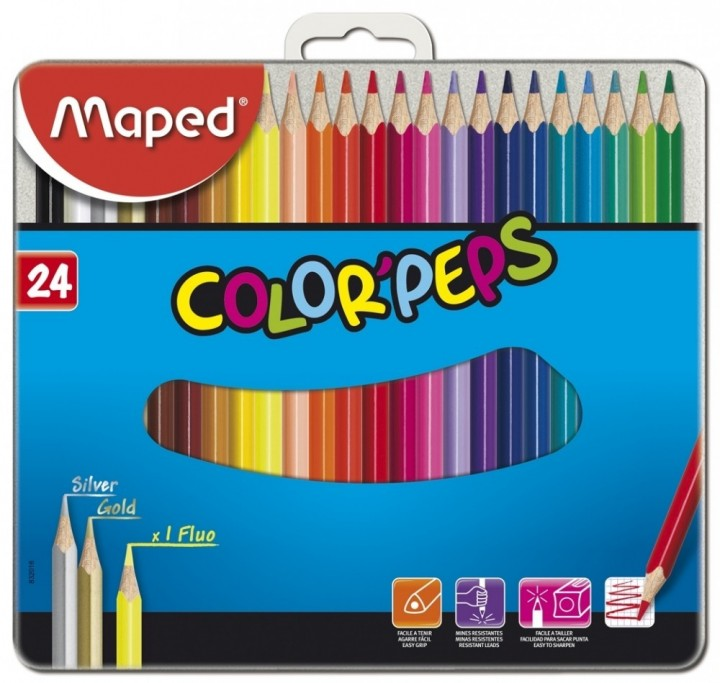 Maped Color Peps 24